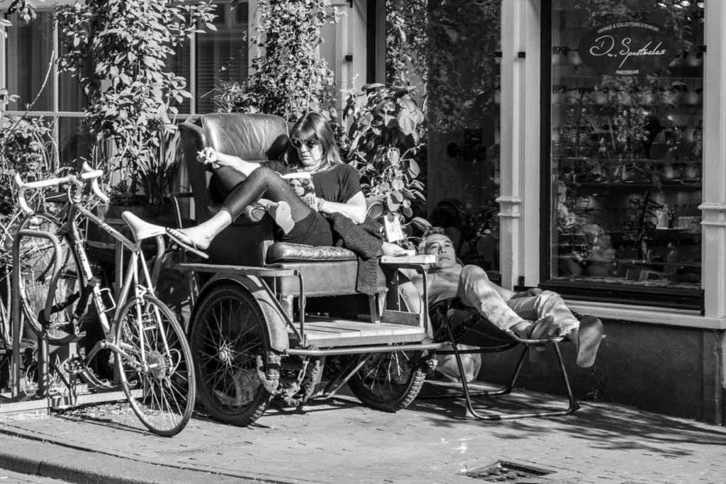 Amsterdam prend le soleil